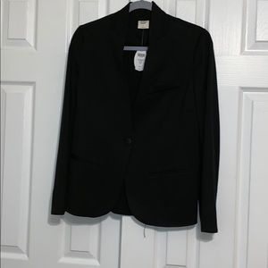 Soma knit blazer black jacket Small